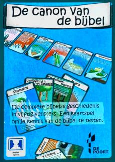 kaartspel de canon van de bijbel