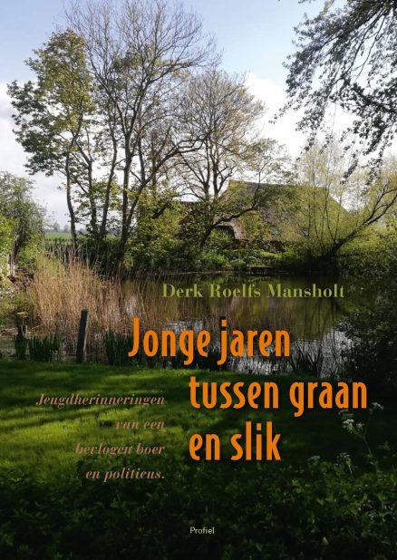 Cover boek Jonge jaren tussen graan en slik