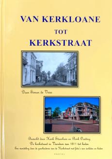 Voorzijde boek Kerkloane tot kerkstraat