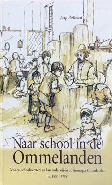 Voorzijde boek Naar school in de Ommelanden