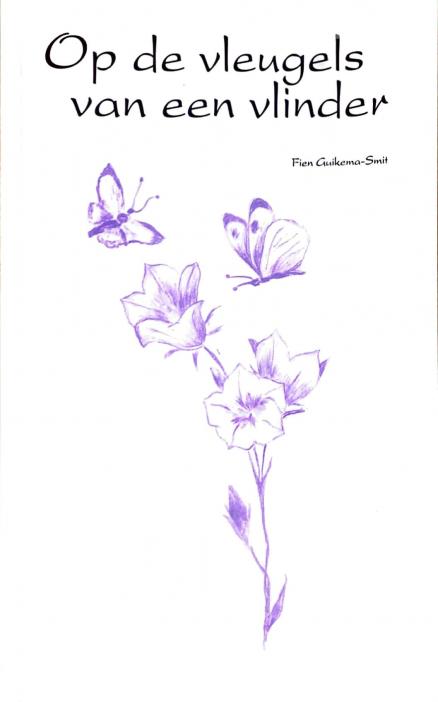 Voorzijde boek Op de vleugels van een vlinder
