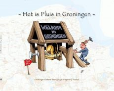 Voorzijde boek Het is Pluis in Groningen