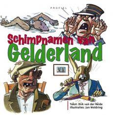 Voorzijde boek Schimpnamen Gelderland