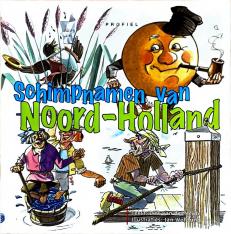Voorzijde boek Schimpnamen Noord-Holland