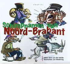 Voorzijde boek Schimpnamen Noord-Brabant