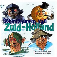 Voorzijde boek Schimpnamen Zuid-Holland