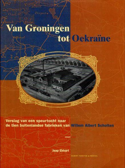 Van Groningen tot Oekraïne boek voorkant