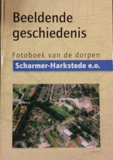 Voorkant boek Beeldende Geschiedenis Scharmer Harkstede