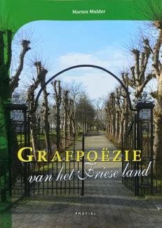 Voorzijde boek Friese Grafpoëzie