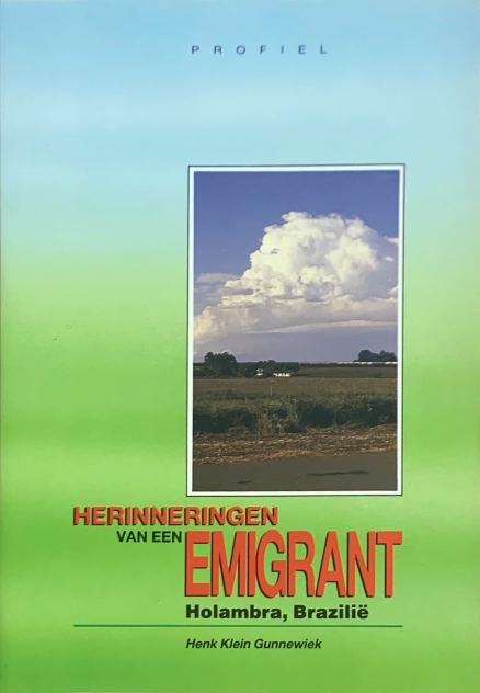 Voorzijde boek herinneringen van een emigrant
